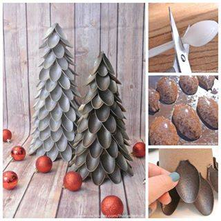 christmas tree disposable spoons