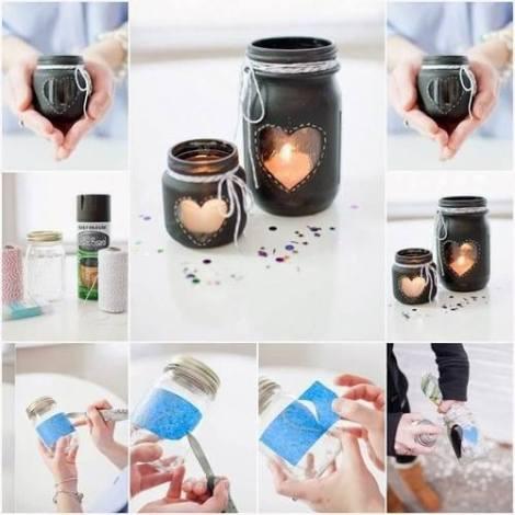 craft candle diy