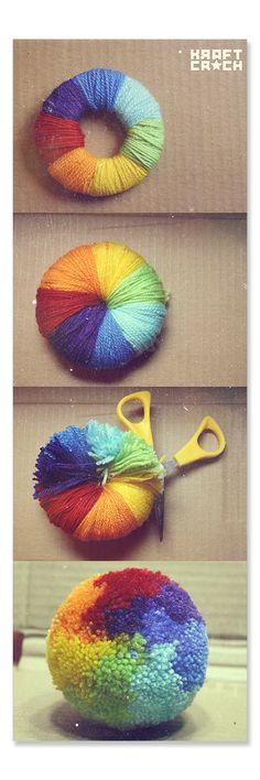 craft pom pom