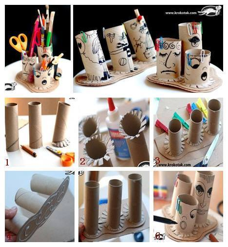 paper toilet roll craft