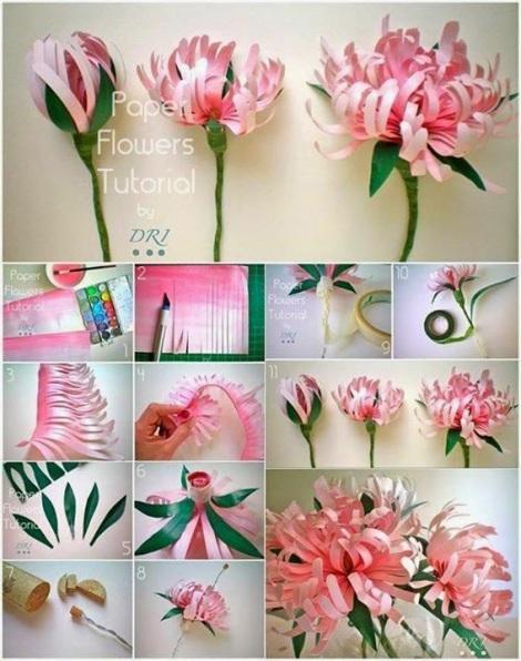 flower craft diy