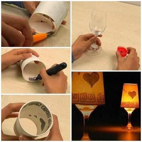 idea creativity light glass